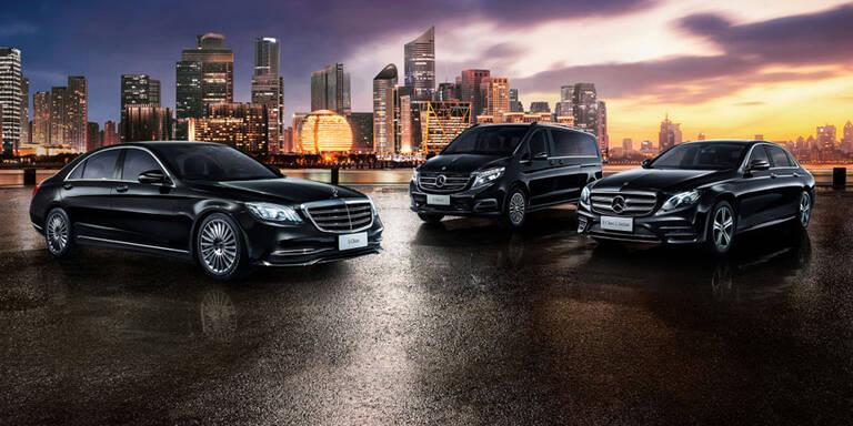 Daimler und Geely starten Luxus-Fahrdienst