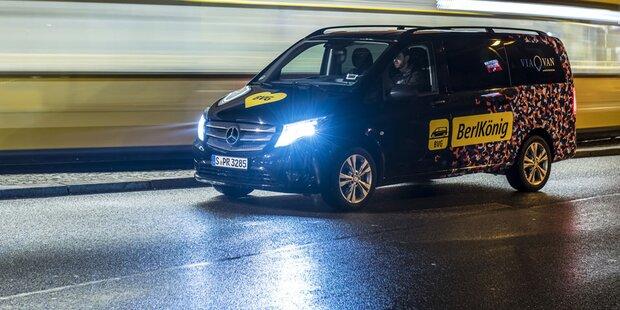 Daimler testet flexiblen Mitfahrdienst