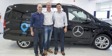 Daimler startet Van-Mitfahrdienst in Europa