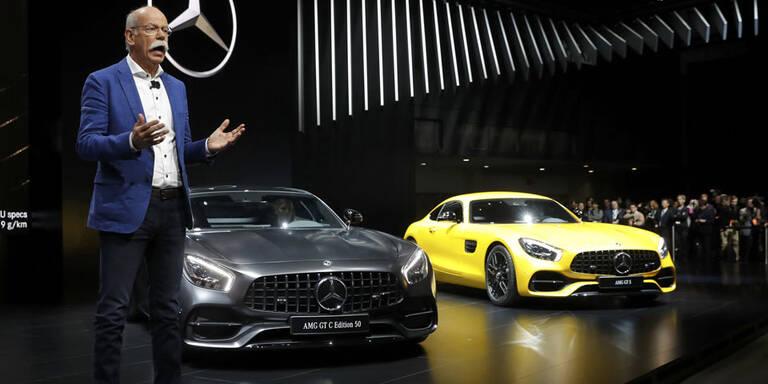 Daimler-Chef Zetsche geht vorzeitig
