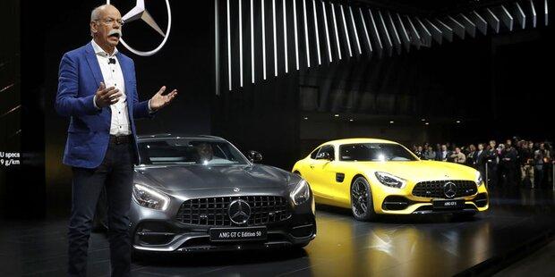 Mercedes zog 2016 an BMW und Audi vorbei