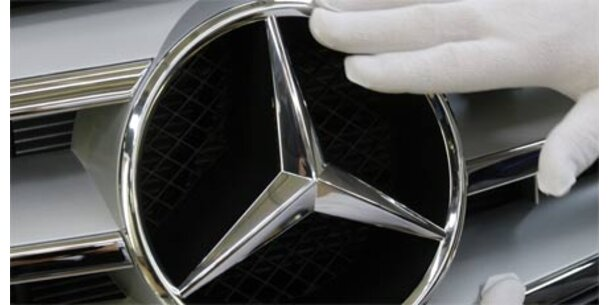 Scheichs übernehmen Macht bei Daimler