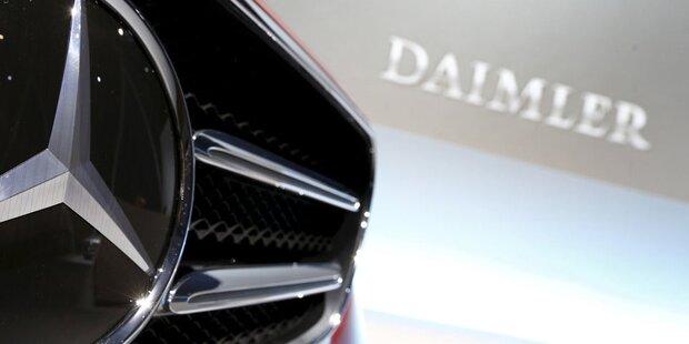 Auch Mercedes soll Abgase manipuliert haben