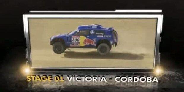 Rallye Dakar - Tag 2