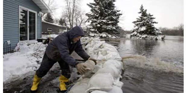 North Dakota versinkt im Wasser