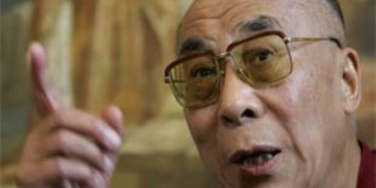 Britischer Premier Brown empfängt Dalai Lama