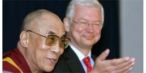 China kritisiert Dalai Lama-Empfang