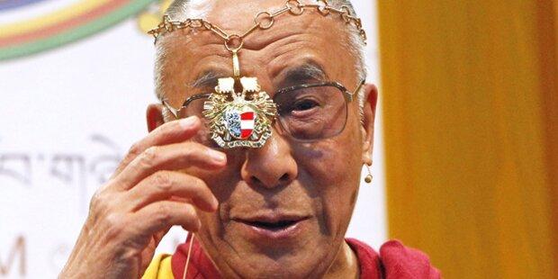 Dalai Lama trifft Kanzler und Vize