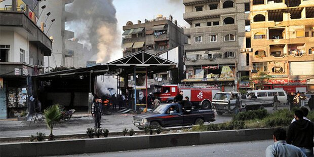Syrien: Mehr als 60 Rebellen getötet