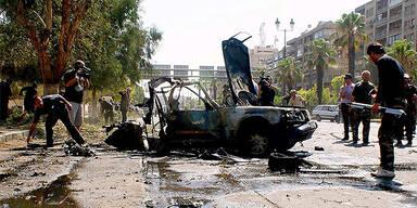 Anschlag in Damaskus / Syrien