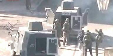 Militär-Aktion in Damaskus