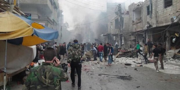 Mehrere Tote bei Explosionen in Damaskus