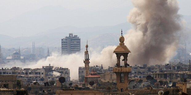 Schwere Gefechte im Osten von Damaskus