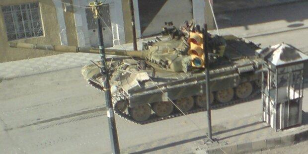 Syrien: Gefechte an Grenze zu Jordanien
