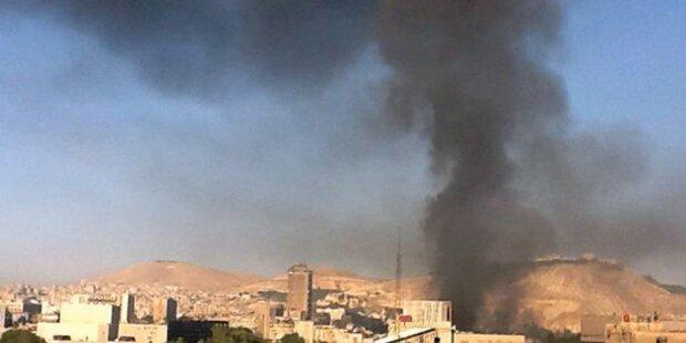 Zwei Bomben detonieren in Damaskus