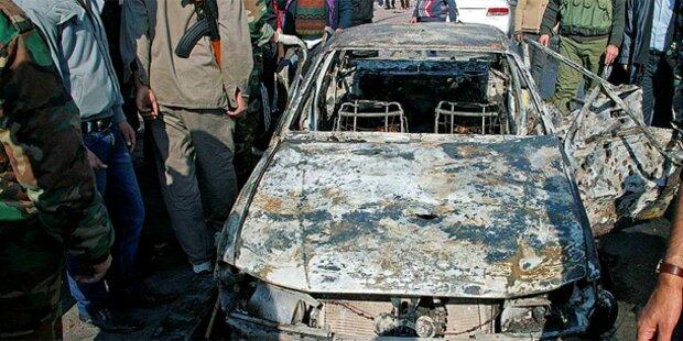 Bombenserie in Damaskus