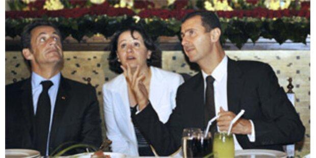 Sarkozy hebt Syrien aufs diplomatische Parkett