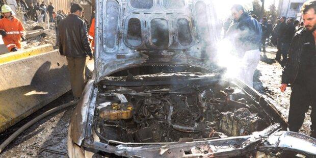Mehrere Tote bei Anschlägen in Damaskus