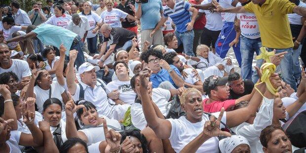 Regierungsgegner in Kuba festgenommen