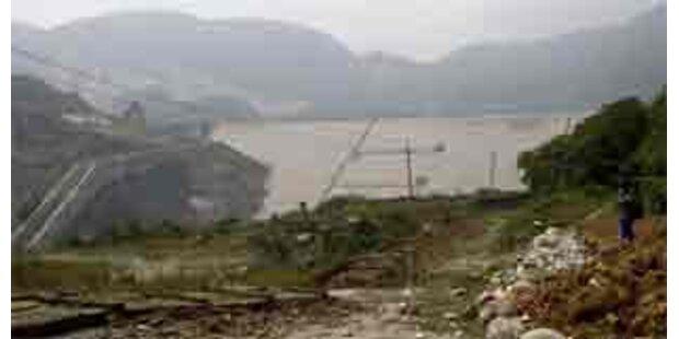Schweres Nachbeben gefährdet Dämme in China