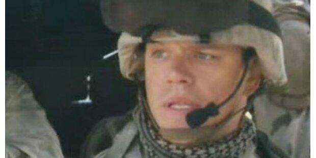 Matt Damon kämpft im Irak