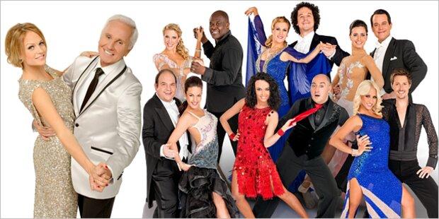 ORF-Tanzreigen: Sexy Outfits für die Stars