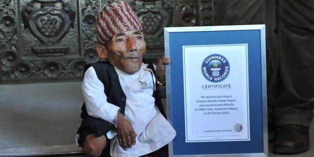 Kleinster Mann der Welt ist gestorben