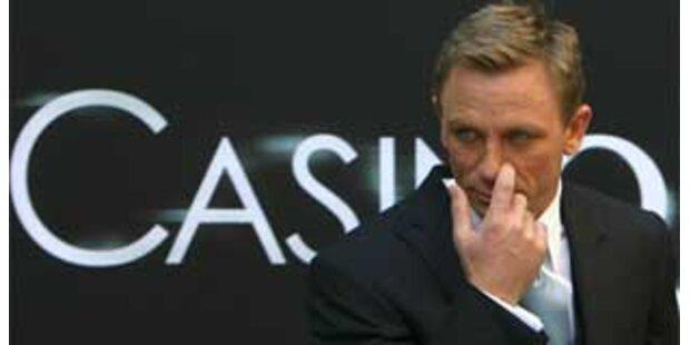 Daniel Craig verletzt sich bei Bond-Dreharbeiten