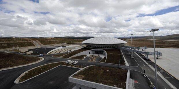 Das ist der höchste Flughafen der Welt