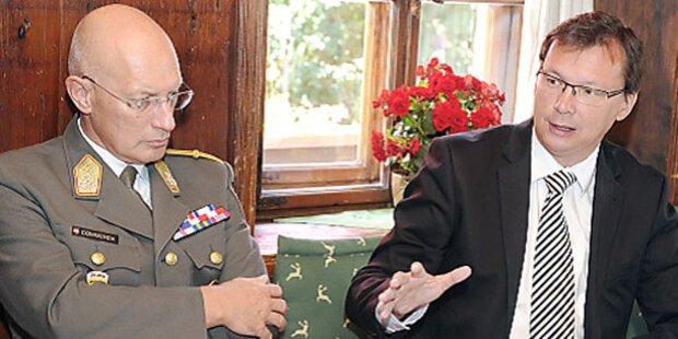 160 Bundesheer-Soldaten in den Libanon