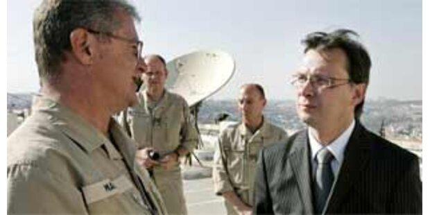 Darabos gibt sich diplomatisch in Iran-Frage