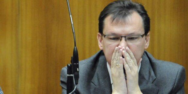 Pilz und Bucher wollen Darabos-Rücktritt