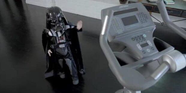 Mini-Darth-Vader hat OP gut überstanden