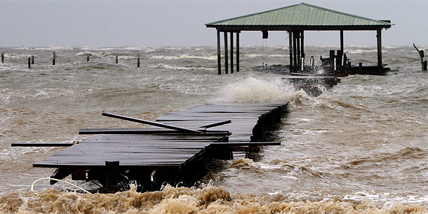 Hurrican Isaac in den USA
