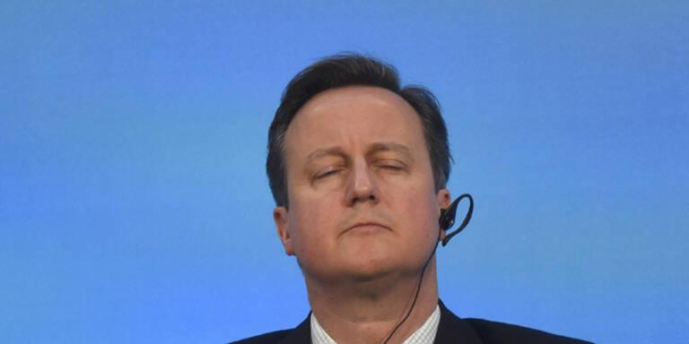 David Cameron: So hat er sich verpokert