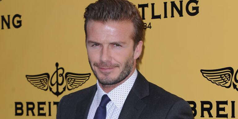 David Beckham machte einen Kochkurs