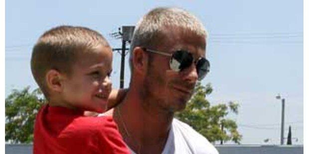 David Beckham schenkte Sohn Brooklyn (8) iPhone