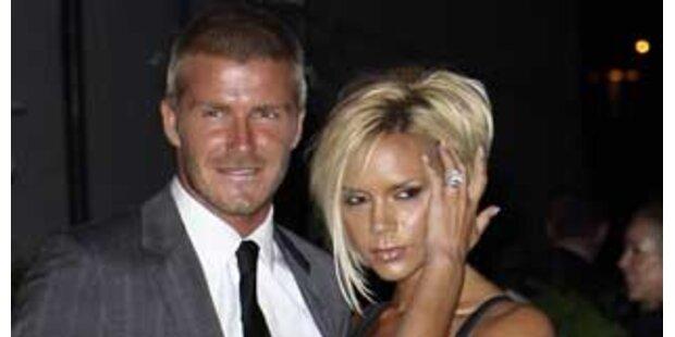 Die Beckhams kommen zum Opernball
