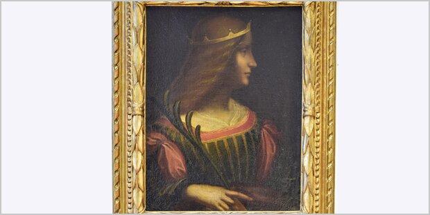 Gefundenes Da Vinci Gemälde unecht?