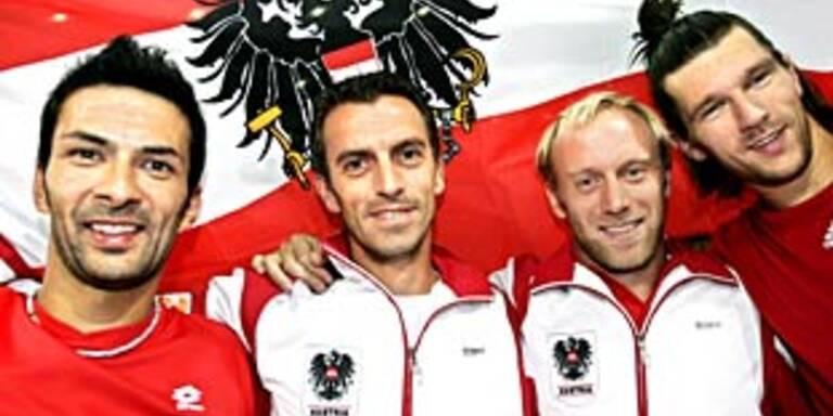 Österreich bei Davis-Cup-Auslosung gesetzt