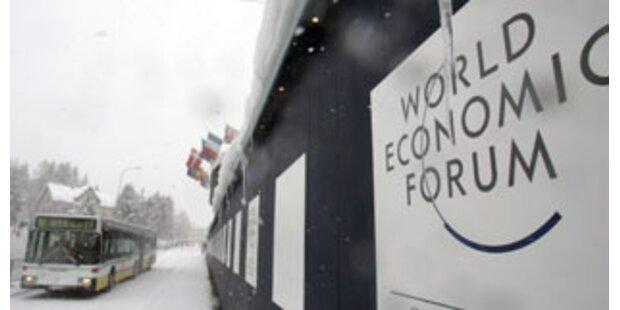Finanzcrash auch Thema beim Treffen von Davos
