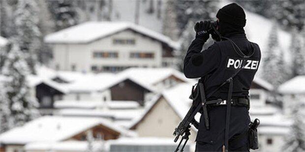 Davos: Explosion beim Weltwirtschaftsforum