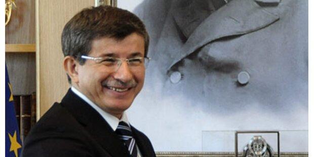 Türk. Minister in irak. Kurdenregion