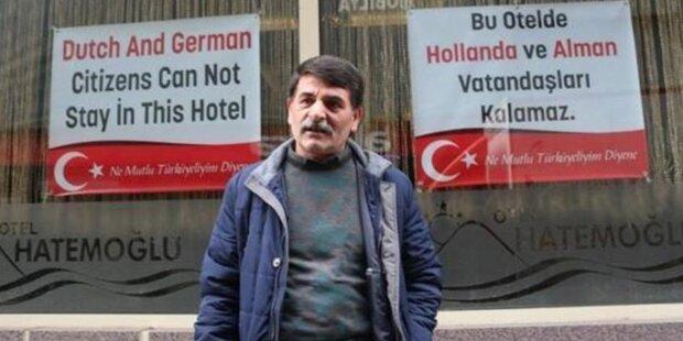 Eklat im Erdogan-Wahlkampf: Türkei-Hotelier sperrt Deutsche aus