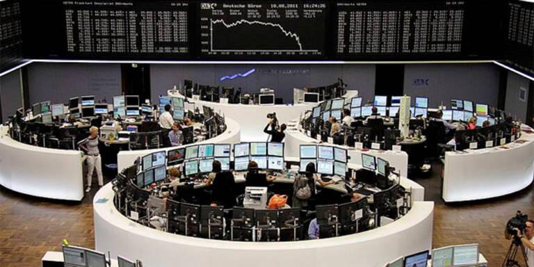 Europas Börsen mehrheitlich im Minus