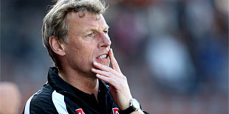 Daxbacher neuer Austria-Coach