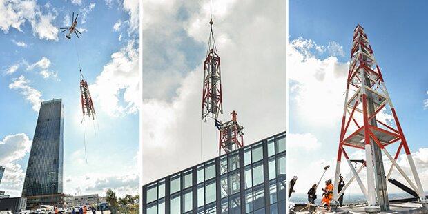 Spektakuläres Video zeigt Bau des DC Towers