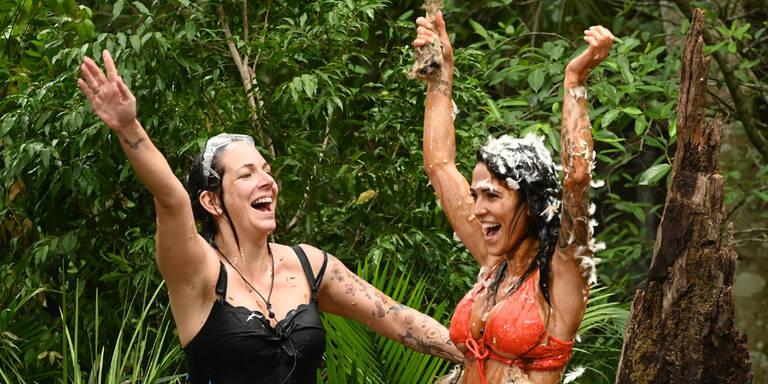 Dschungel: Danni & Elena sind Sterne-Queens