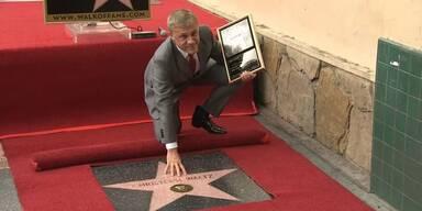 Waltz bekommt Walk Of Fame-Stern