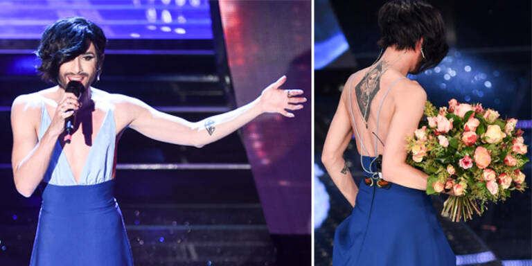 Conchita Wurst zeigt XXL-Tattoo